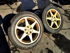 30742 Комплект дисков RAYS Versus Sesto SP R16, 7+35, 5x100 + ШИНЫ