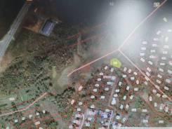 Земельный участок под строительство на Де-Фризе. 1 800кв.м., собственность. План (чертёж, схема) участка
