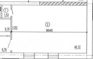 Производственное/торговое помещение, 50 кв. м в с. Ильинка. 50,0кв.м., Ильинка, улица Совхозная 13, р-н Индустриальный