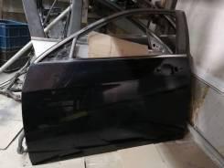 Дверь передняя левая на Honda Accord CL CM, цвет чёрный B92p