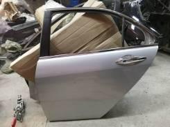 Дверь задняя левая на Honda Accord CL, цвет серебро NH700M