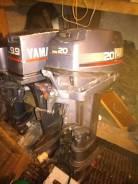 Yamaha. 20,00л.с., 2-тактный, бензиновый, нога L (508 мм), 1996 год