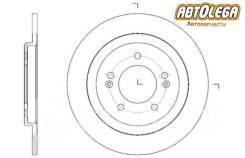 Диск тормозной задний G-brake Hyundai i30/KIA CEED 12- GR-12022