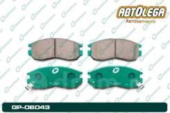 Колодки пер. G-brake MMC Chariot/Grandis N3#W Galant/Legnum EA DION CR# GP-06043