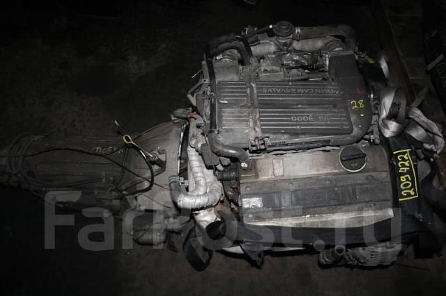 Двигатель Nissan VG30DET Контрактный   Гарантия, Установка