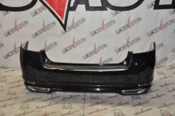 Задний бампер с губой S. Legacy BM9 [Leks-Auto 363]