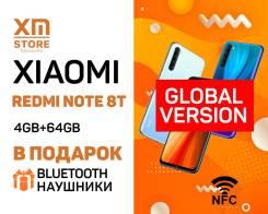 Xiaomi Redmi Note 8T. Новый, 64 Гб, 3G, 4G LTE, Dual-SIM, NFC
