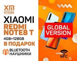 Xiaomi Redmi Note 8T. Новый, 128 Гб, 3G, 4G LTE, Dual-SIM, NFC