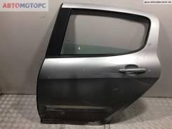 Дверь задняя левая Peugeot 308 2008, Хэтчбек 5-дв.