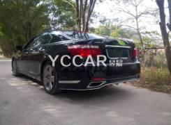Бампер задний (V-Vision) Lexus Ls460 (XF40) 2006 - 2012