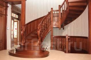 Лестницы и Интерьеры из дерева изготовление на заказ во Владивостоке