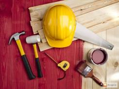 Услуги по ремонту, строительных и малярных работ.