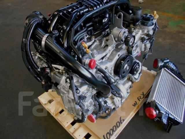 Двигатель 2.0л FA20 турбо Субару