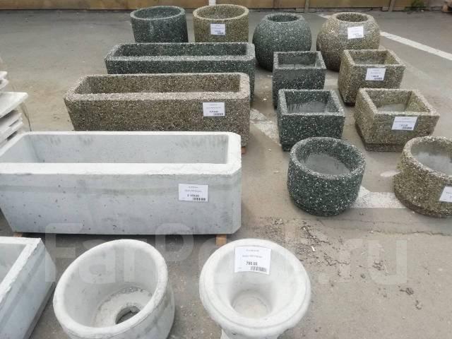 где купить клумбы из бетона