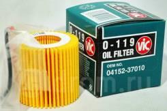 Фильтр масляный VIC O119, OEM 041523701079, V91113009, Япония