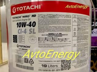 Totachi. 10W-40, полусинтетическое, 20,00л.