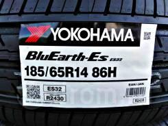 Yokohama BluEarth-ES ES32,*Расширенная Гарантия - 1 ГОД. При грыже,порезе - бесплатная замена шины!, 185/65 R14