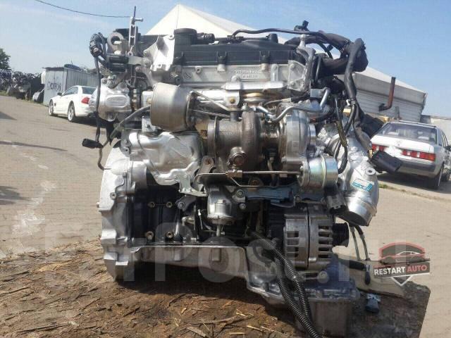 Контрактный Двигатель Mercedes-Benz, прошел проверку