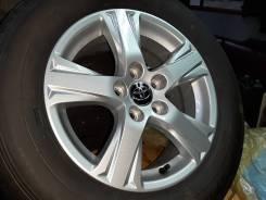 Колеса Лето Goodyear EfficientGrip 215/65/16 +Литье Oригинал Toyota.