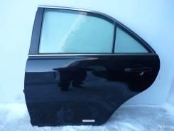 Дверь задняя левая Toyota Camry V40 черная 2,4 л 2006-2011гг.