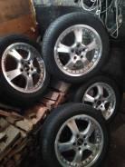 Продам комплект летних шин 215/55R17 с лит. японскими дисками 114.3*5