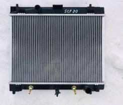 Радиатор охлаждения двигателя Toyota Vitz NCP91, 1NZFE
