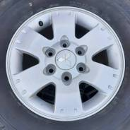Оригинальные диски Mitsubishi R16, 6-139.7 + Шины 265/70 Dunlop лето