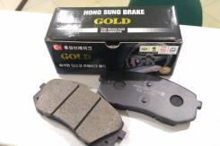 Колодки тормозные дисковые передние, комплект Carens 06-09, Rondo 07-09, Sportage R 4WD 10- / Hyund HSB HP1040 HP1040