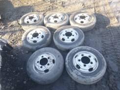 Комплект оригинальных колес Hino Dutro 195/70 R15 лето + запаска!