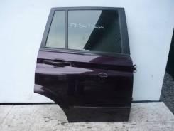 Дверь задняя правая SsangYong Kyron фиолетовая