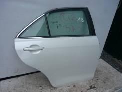 Дверь задняя правая Toyota Camry 40 белый цвет жемчуг