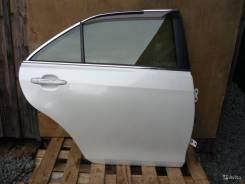 Дверь задняя правая Тойота Камри 40 белый жемчуг