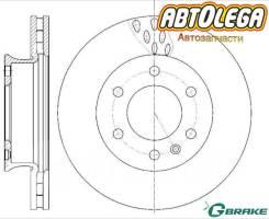Диск тормозной перед. G-brake Mercedes Sprinter / VW Crafter 06