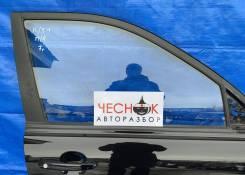 Стекло двери переднее правое Kia Sportage 2