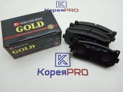 Колодки Тормозные Задние HP1009 SP1079R 0K2FC2628Z 0K9A02628Z HONG SUNG Brake / HSB
