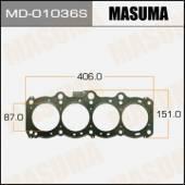 Прокладка ГБЦ Masuma MD-01036S