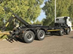 Автосистемы АС-26МС. Мультилифт 26 тонн Камаз 65201 + крюковой погрузчик Palfinger PH T26PI, 11 762куб. см. Под заказ
