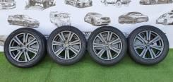 """Комплект жирных колес RAYS MADE IN Japan 215/55/17 на резине 2019 года. 7.0x17"""" 5x114.30 ET38"""