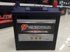 Yokohama Batteries. 40А.ч., Обратная (левое), производство Япония