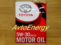Toyota. 5W-30, синтетическое, 4,00л.