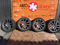"""Копеса-диски с резиной Dunlop. 7.0x17"""" 5x100.00 ET47 ЦО 57,0мм."""