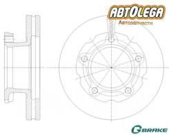 Диск тормозной пер. G-brake Nissan Atlas/Isuzu ELF #66 #69 #70 #71 #72