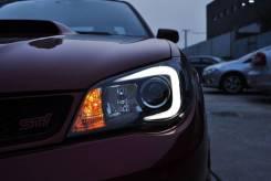 Фары (Тюнинг Комплект) Subaru Impreza (GD) 2005-2007.