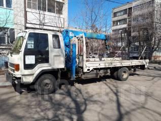 Услуги грузовика с краном-манипулятором ,5т , сходни , лебедка .