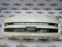 Бампер передний Toyota Voxy(R60) 2004-2007 год белый пустой 6707
