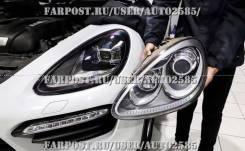 Фары (оптика) Porsche Cayenne 2011-2014 в стиле 2019