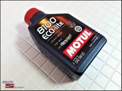 Motul 8100 Eco-Lite. 0W-20, синтетическое, 1,00л.