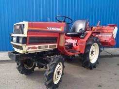 Yanmar F15D. Мини-трактор +фреза, 15 л.с.