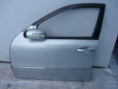 Дверь передняя левая Мерседес Mercedes E 350, S211 универсал серебро