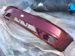 Новый окрашенный бампер (вишневый) Daewoo Nexia N150 08-